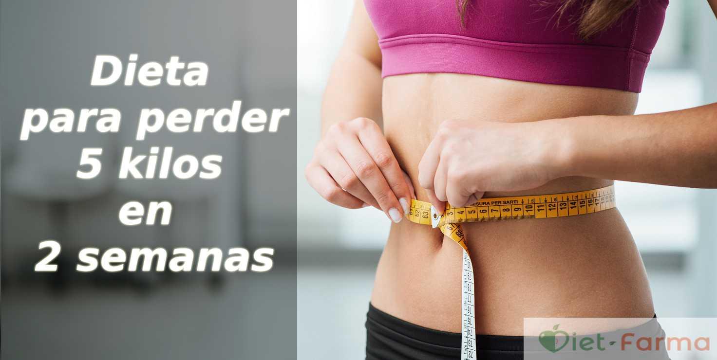 Perder 5 kilos en dos semanas