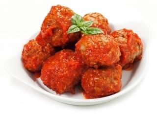 Albóndigas de ternera con tomate
