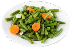 Judías verdes y zanahoria aliñada