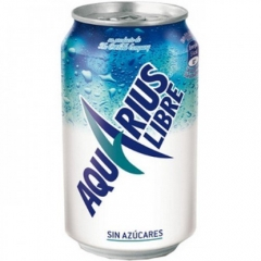 Bebida isotónica aquarius sin azúcar