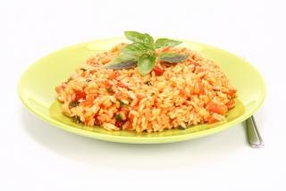 arroz con verduras al curry