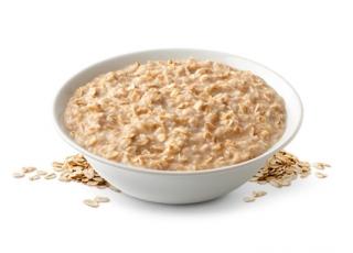 Avena con yogurt natural