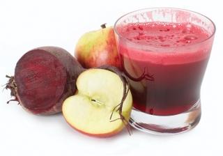 zumo de remolacha y manzana