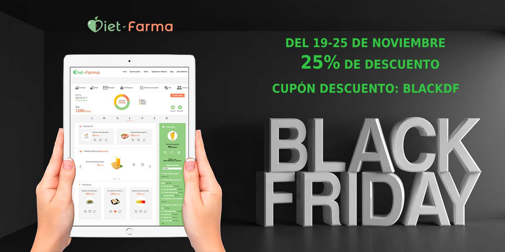 black friday en dietfarma