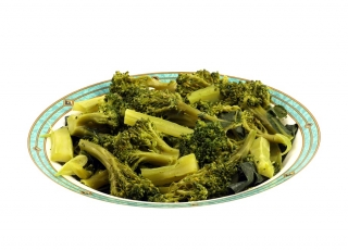 Brócoli con soja y sésamo