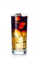 Combinado de whisky con cola zero