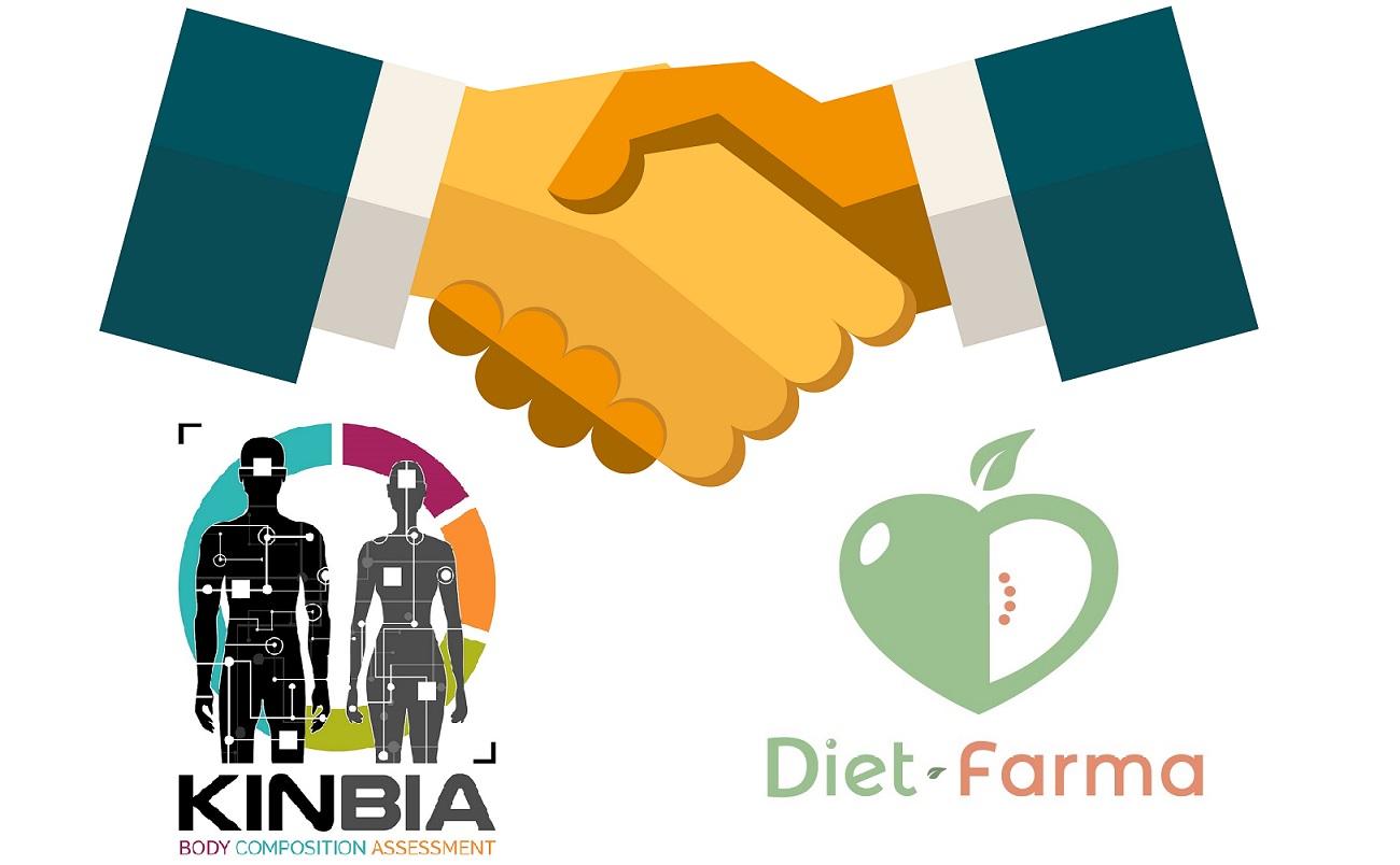 convenio de colaboración de dietfarma con kinbia