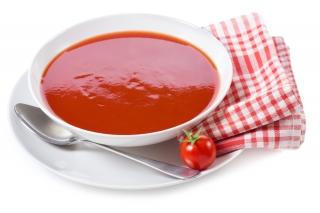 Crema de tomate y pimiento