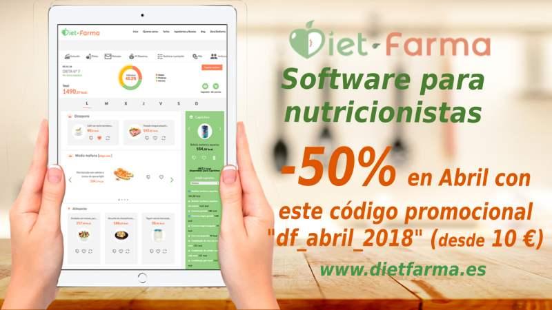descuento software nutricionistas
