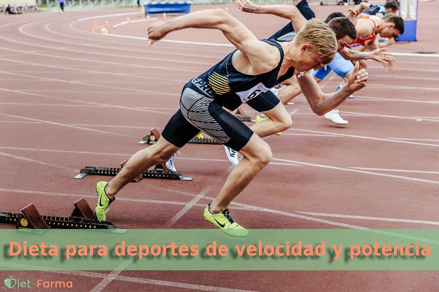 deporte de velocidad y potencia