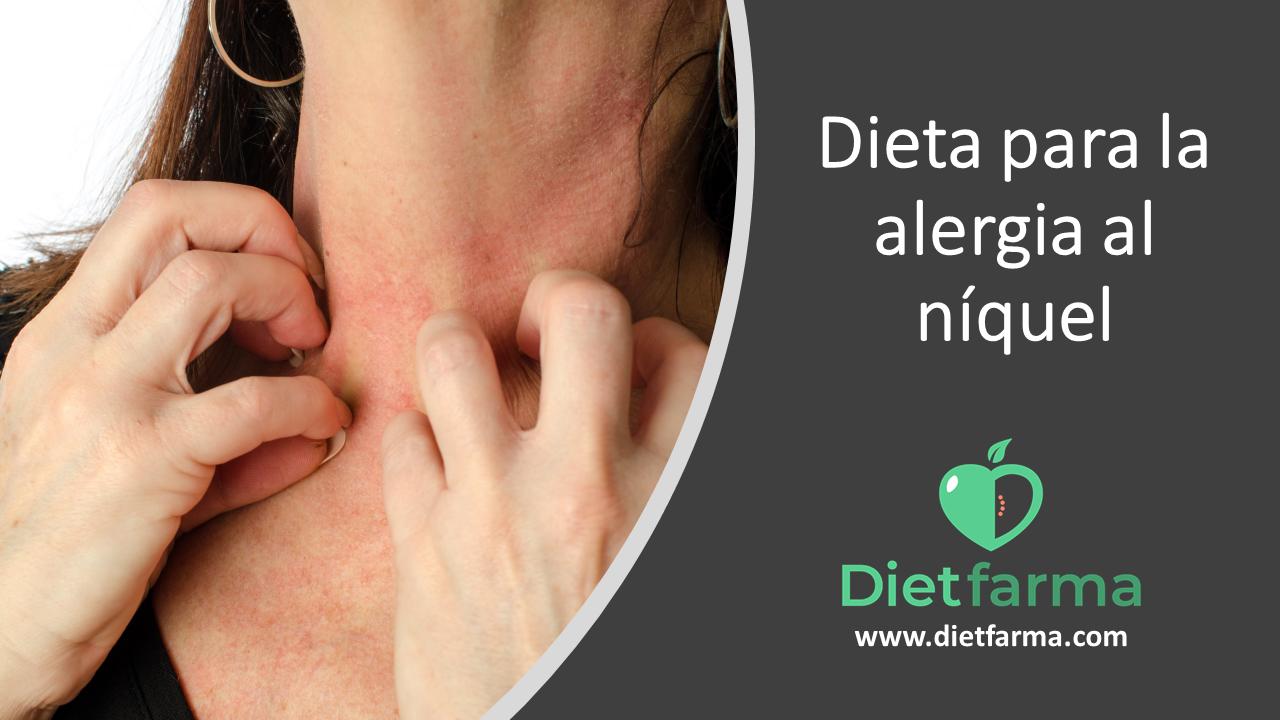 dieta para la alergia al niquel