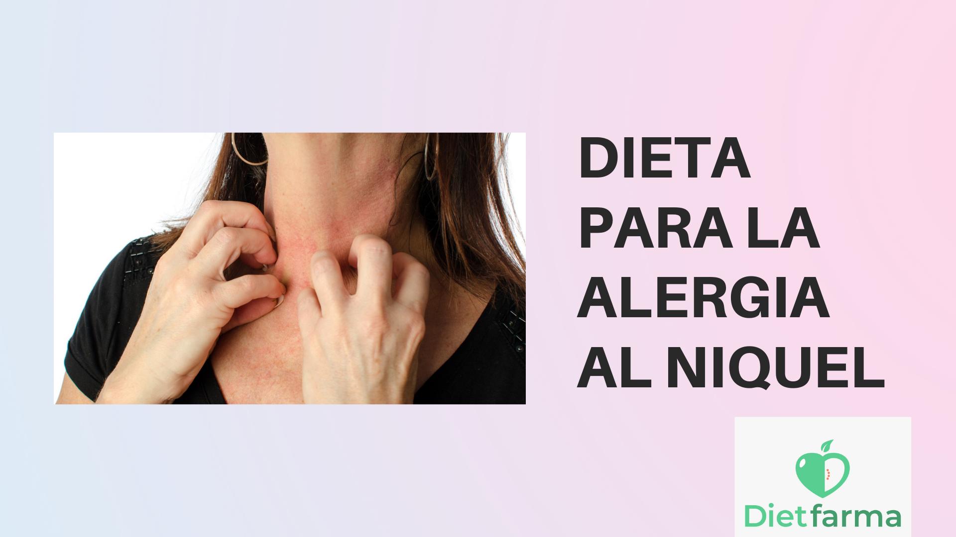 Dieta alergia níquel