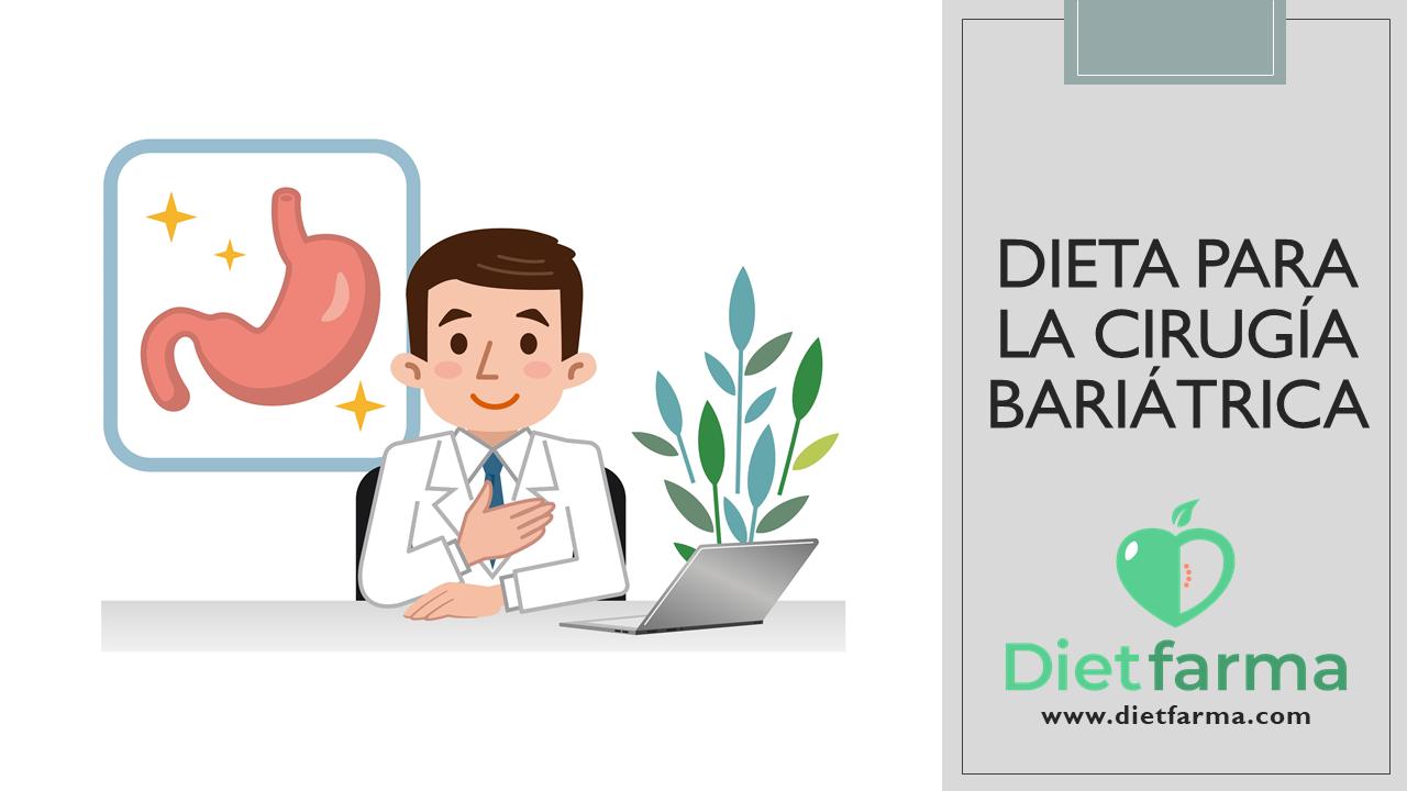 dieta para la cirugía bariatrica