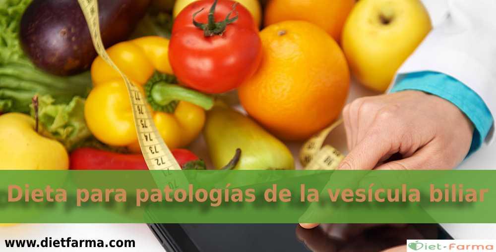 dieta para la vesícula biliar