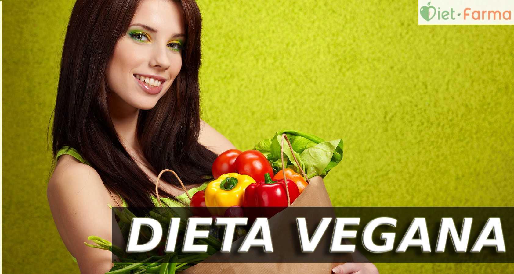 chica con cesta de vegetales