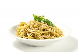 Espaguetis con ajo y perejil