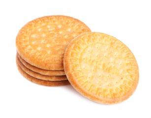 Tres galletas tipo María