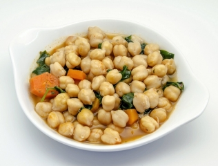 Garbanzos a la antigua