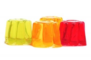 Dos gelatina sin azucares añadidos