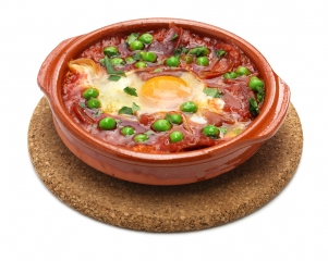 Receta De Huevos A La Flamenca En Microondas