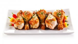 Jamoncitos de pollo con especias