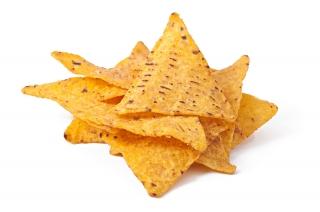 Bolsa de triángulos de maíz (Doritos)