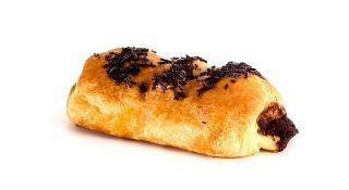 Napolitana rellena de chocolate (pieza pequeña)