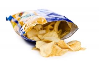 Bolsa pequeña de patatas fritas
