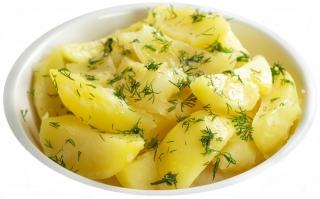Patatas cocidas (en microondas)