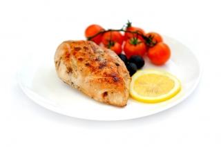 Pechuga de pollo con ajo y perejil