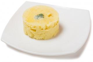 Puré de patatas con parmesano