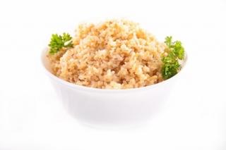 Quinoa con ajo y perejil