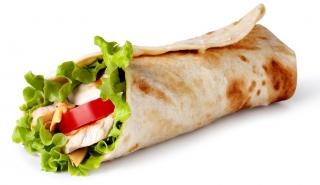 Rollo de pollo y verduras