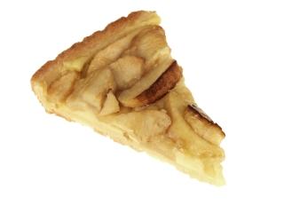 Pastel de manzana en hojaldre (porción pequeña)