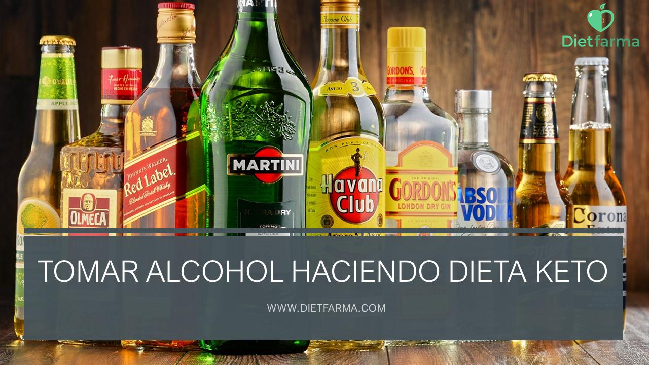 tomar alcohol haciendo dieta keto