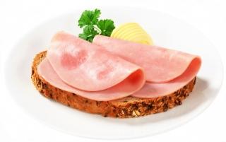 Cuantas kcal tiene loncha de jamon cocido