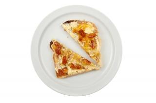 cuantas calorias tiene una tostada de frying-pan elemental negative mermelada